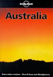 Cover of: Lonely Planet Australia