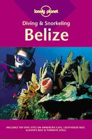 Cover of: Diving & snorkeling, Belize