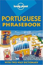 Cover of: Portuguese phrasebook | Clara de Macedo Vitorino