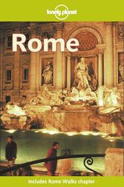 Cover of: Lonely Planet Rome (1st ed) | Helen Gillman
