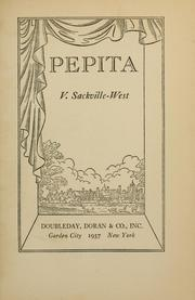 Cover of: Pepita | Vita Sackville-West