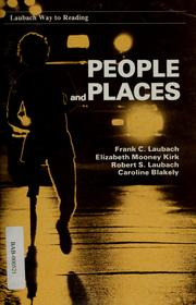 Cover of: People and places | Frank C. Laubach
