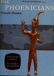 Cover of: The Phoenicians | Donald B. Harden