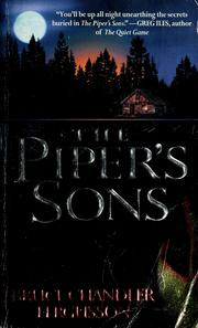 Cover of: The piper's sons | Bruce Fergusson