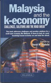 Cover of: Malaysia and the K-economy: |