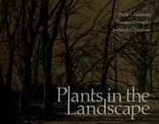 Cover of: Plants in the landscape | Carpenter, Philip L.
