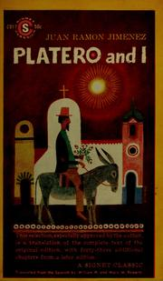 Cover of: Platero and I by Juan Ramón Jiménez