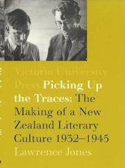Cover of: Picking up the traces | Lawrence Jones