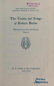 Cover of: The poems and songs of Robert Burns