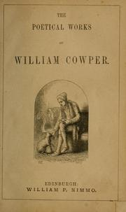 Cover of: Poetical works | William Cowper