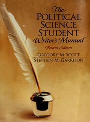 Cover of: The political science student writer