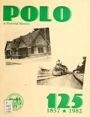 Cover of: Polo 125 | Polo (Ill.). 125th Anniversary Committee