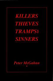 Cover of: Killers, Thieves, Tramps & Sinners | Peter McGahan