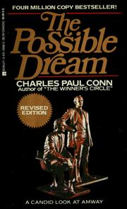 Cover of: The possible dream | Charles Paul Conn