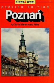 Cover of: Poznan by Włodzimierz Łęcki