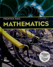 Cover of: Prentice Hall mathematics
