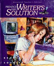 Cover of: Prentice Hall writer's solution, bronze |