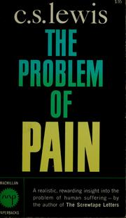 Cover of: The Problem of Pain