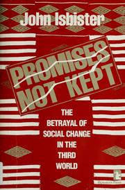 Cover of: Promises not kept | John Isbister