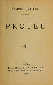 Cover of: Protée