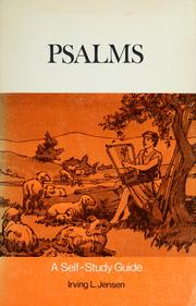 Cover of: Psalms | Irving Lester Jensen