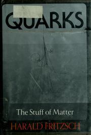 Cover of: Quarks | Harald Fritzsch