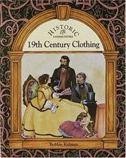 Cover of: 19th century clothing