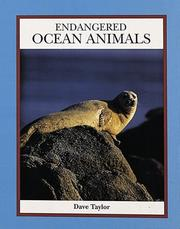 Cover of: Endangered ocean animals