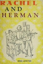 Cover of: Rachel and Herman | Mina Lewiton
