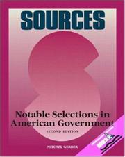 Cover of: Sources | Mitchel Gerber