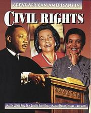 Cover of: Great African Americans in Civil Rights