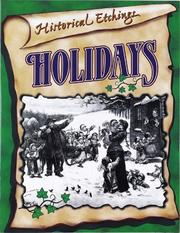 Cover of: Holidays