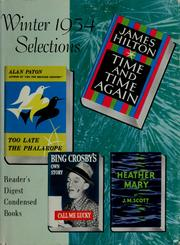 Cover of: Reader's Digest condensed books by Bing Crosby