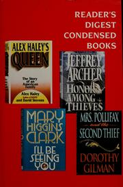 Cover of: Reader's Digest condensed books |