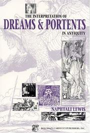 Cover of: The interpretation of dreams & portents in antiquity