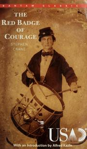 Cover of: The red badge of courage | Stephen Crane