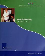 Registered nurse mental health nursing care review module by