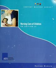 Cover of: Registered nurse nursing care of children review module by contributors, Penny Fauber-Moore ... [et al.] ; editor in-chief, Leslie Schaaf Treas.