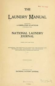 Cover of: The laundry manual |