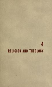 Cover of: Religion and theology: by Mortimer J. Adler and Seymour Cain.