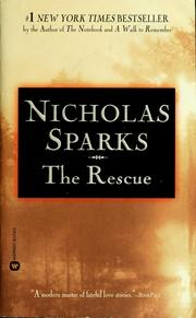Cover of: The rescue | Nicholas Sparks