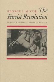 Cover of: The fascist revolution