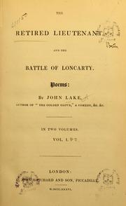 Cover of: The retired lieutenant, and the Battle of Loncarty | John Lake