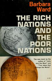 Cover of: The rich nations and the poor nations