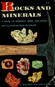 Cover of: Rocks and minerals | Herbert S. Zim
