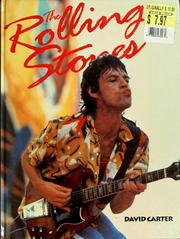 Cover of: The Rolling Stones | David Carter
