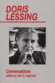 Cover of: Doris Lessing: conversations