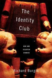 Cover of: The identity club