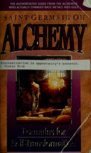 Saint Germain on alchemy (1993 edition) | Open Library