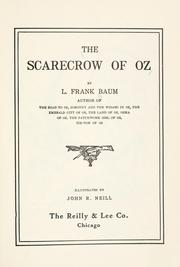 Cover of: The  scarecrow of Oz by L. Frank Baum